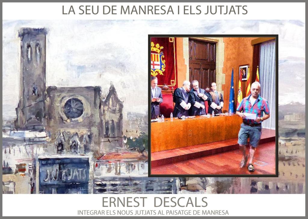 MANRESA-PINTURA-PAISATGES-CATALUNYA-JUTJATS-INTEGRAR-PREMIS-PINTURES-PINTOR-ERNEST DESCALS